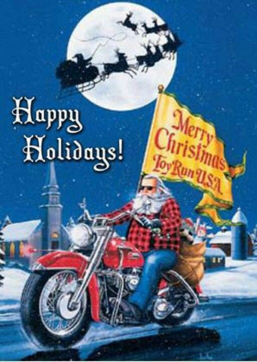 Merry Christmas & Happy Harley Days.