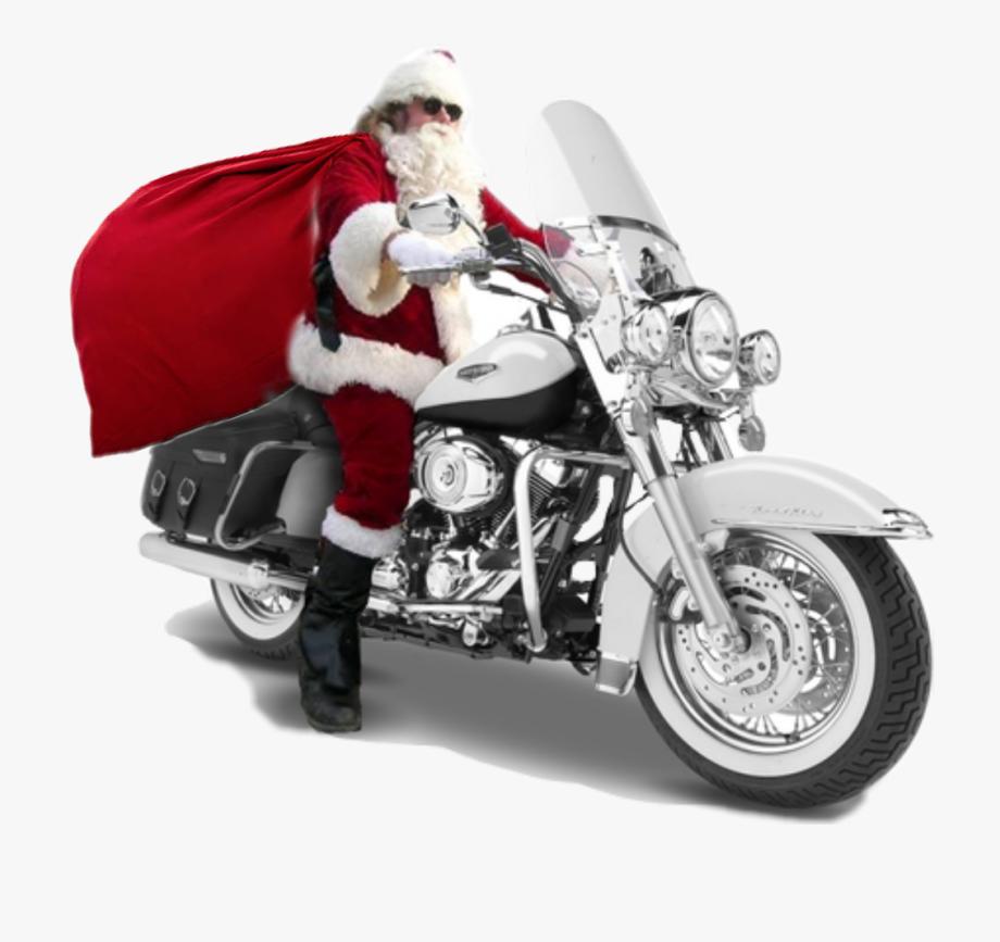 ftestickers #santa #bike #ride #christmas @danial8986.