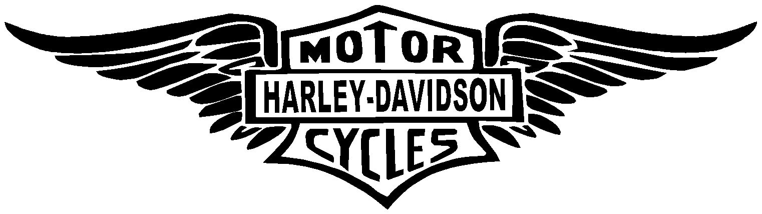 8 Awesome harley wings clip art.