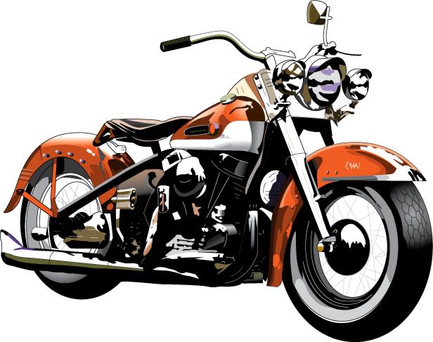 Harley Davidson Motorcycle Silhouette at GetDrawings.com.