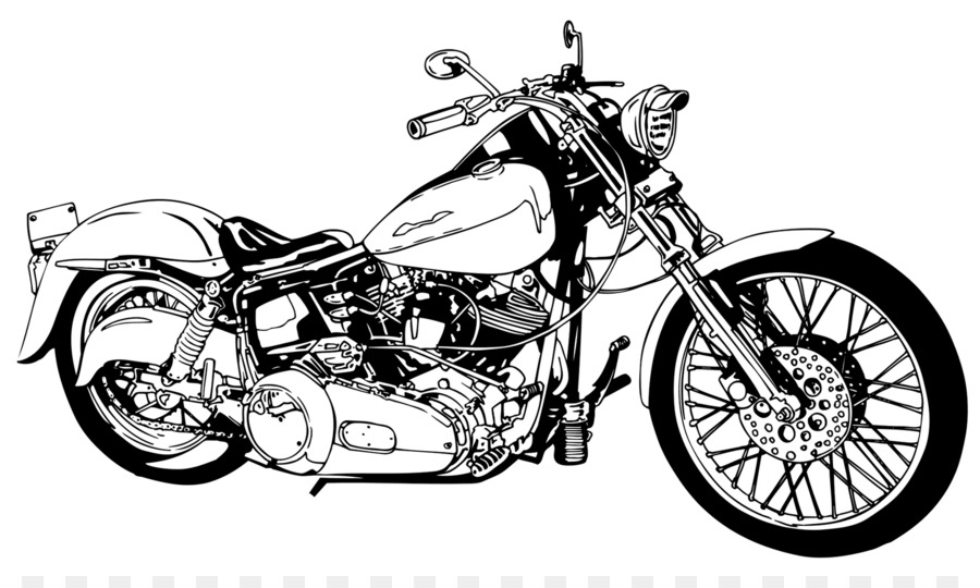 265 Harley Davidson free clipart.