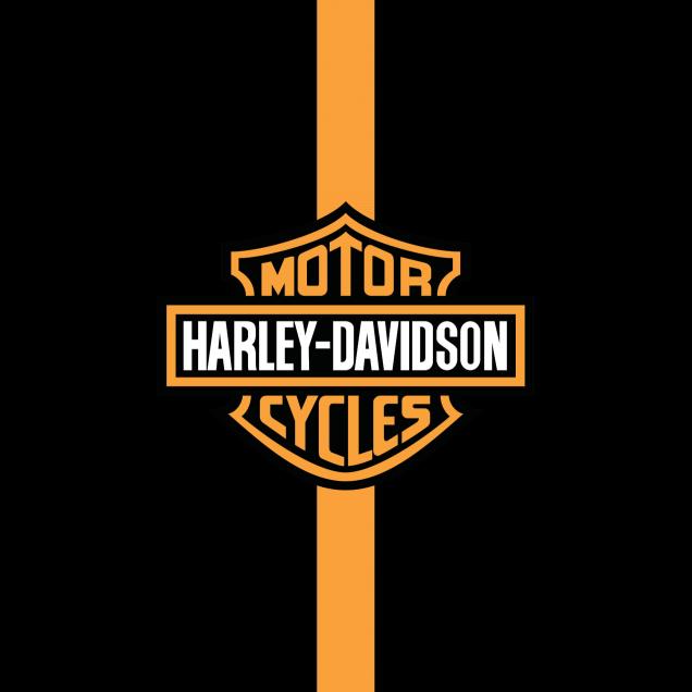 Wallpaper HD Logo Harley Davidson.