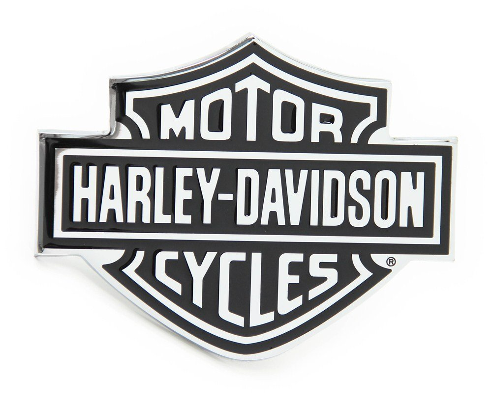 Automaze Harley Davidson Racing Sports Sticker 3D Chrome Badge Logo Sticker  For Car & Bike.
