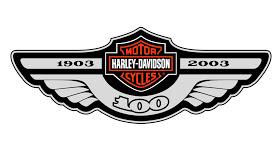 osolaindabrilha: harley davidson logo 02.