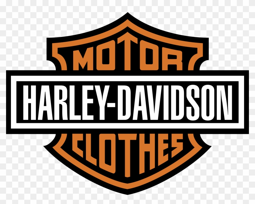 Harley Clothes Logo Png Transparent.