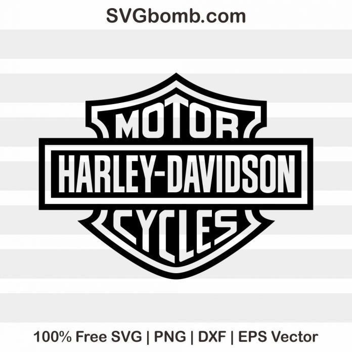 Free Harley Davidson SVG.