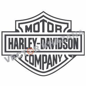 Harley Davidson Logo Svg.