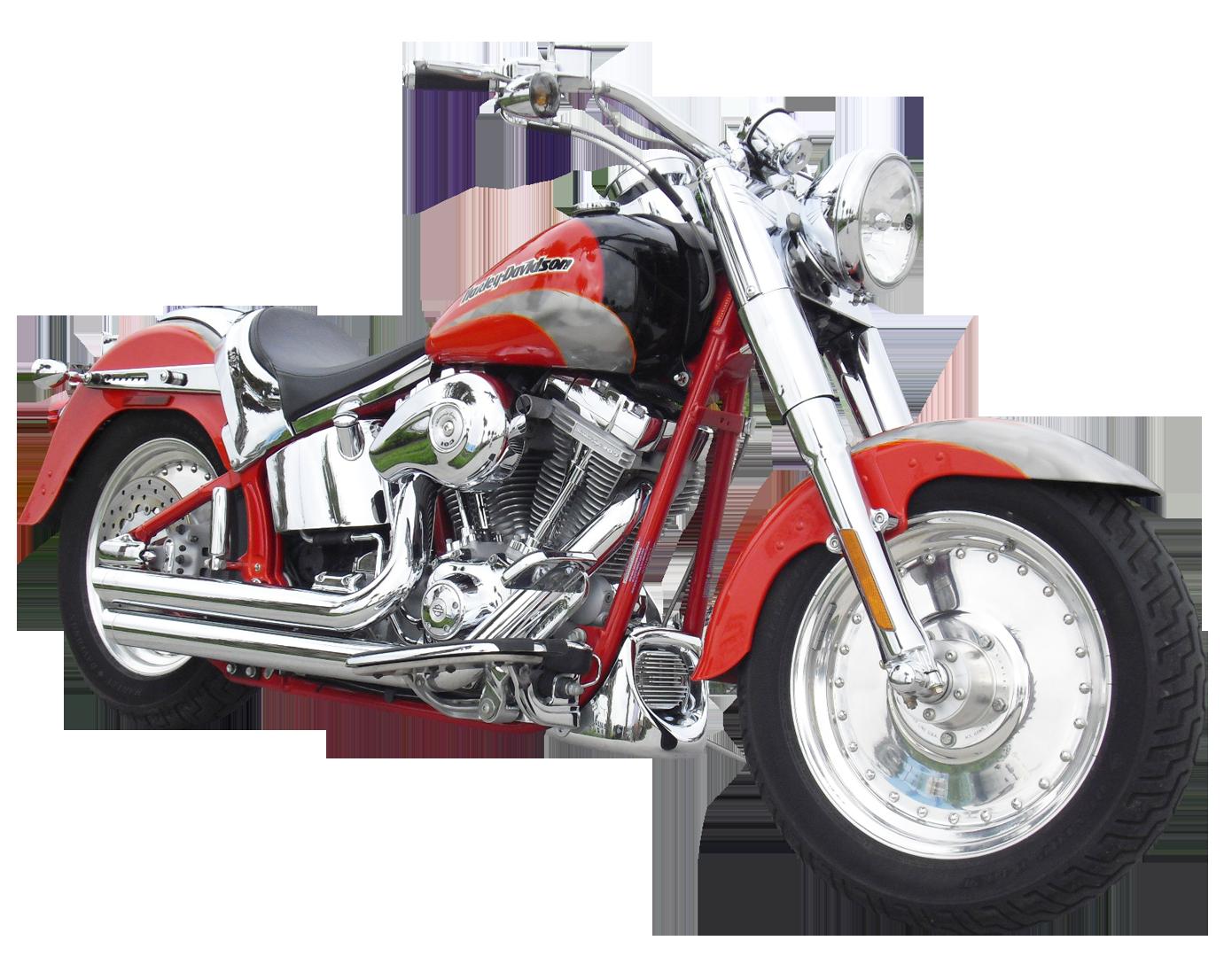 Harley Davidson Motorcycle Bike PNG Image 1.