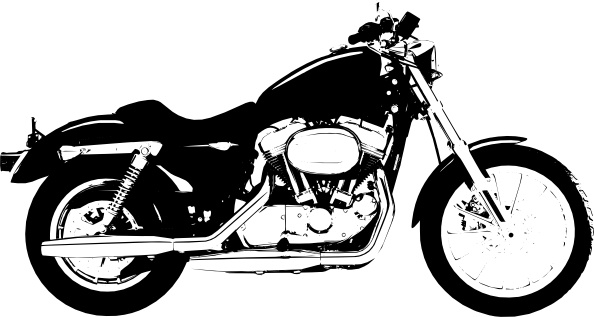Claydowling Harley Davidson Sportster clip art Free vector in Open.