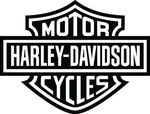 Free Harley Davidson Silhouette Decal, Download Free Clip.