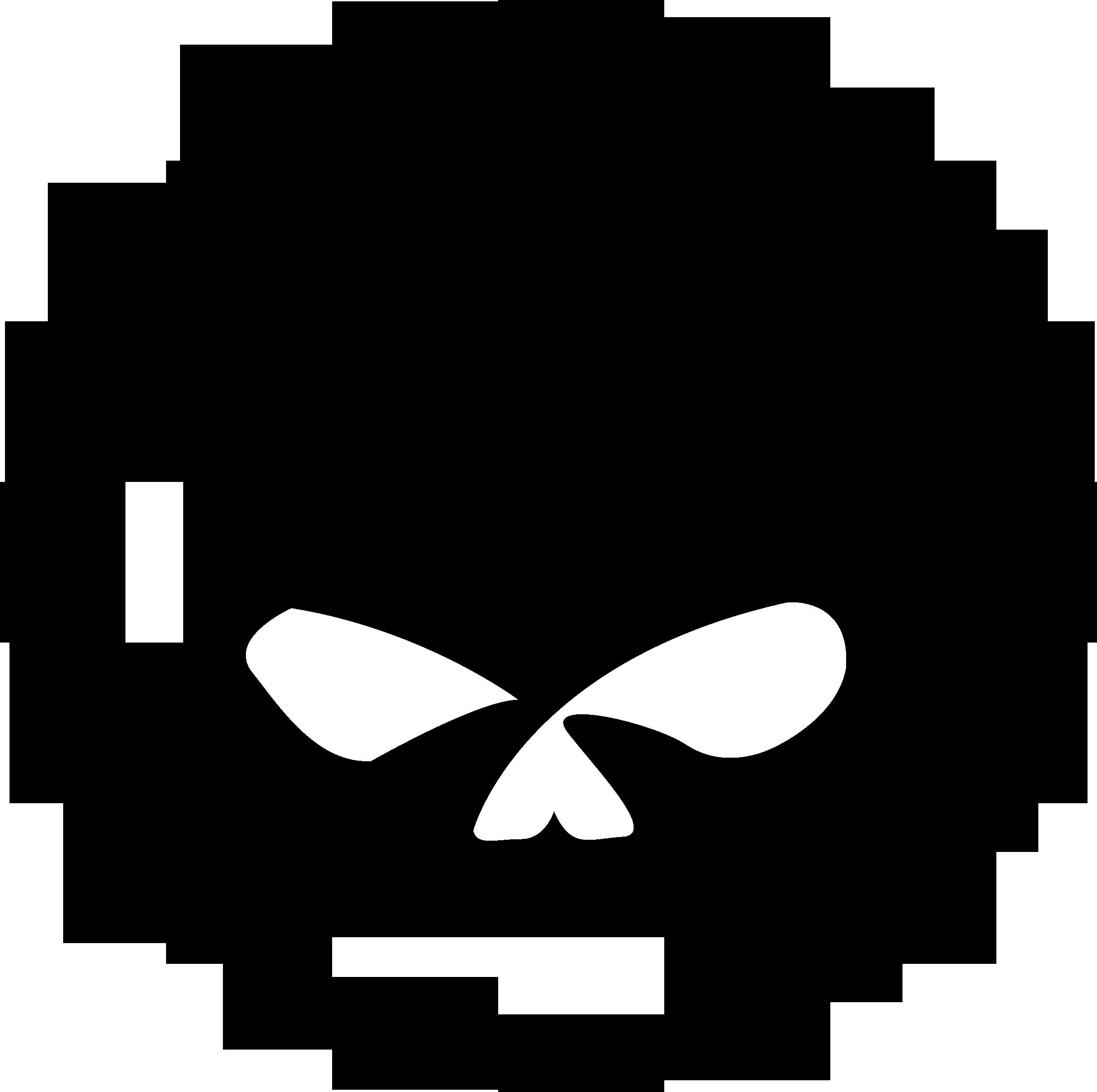 Willie G Skull logo.