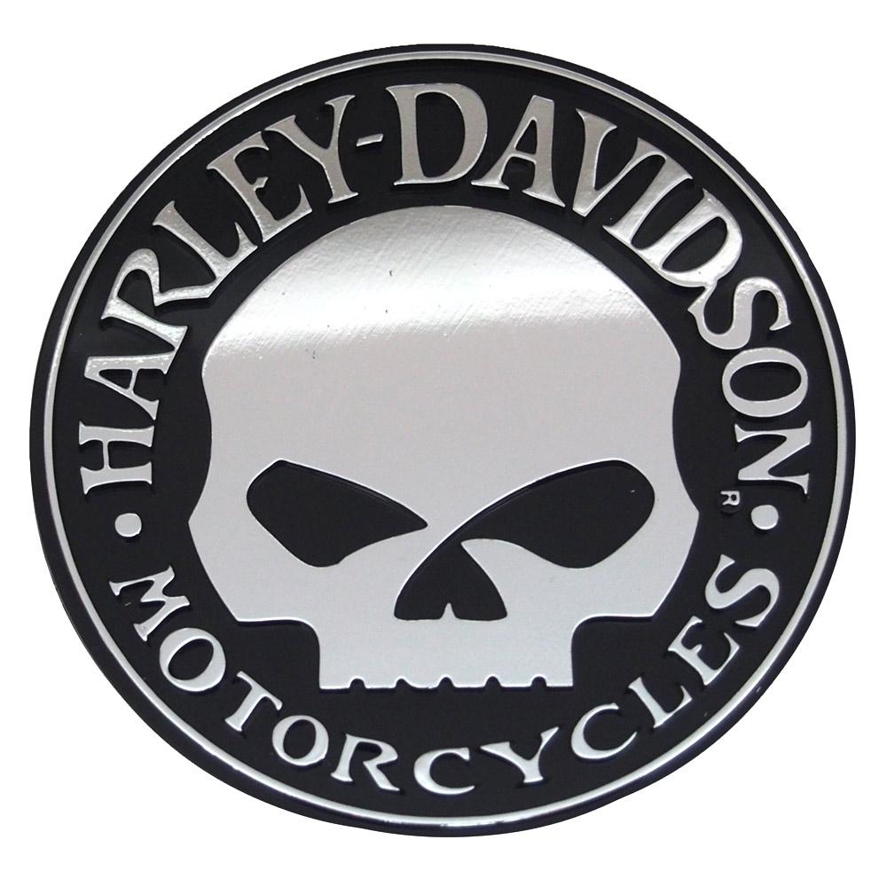 Round Vehicle Emblem.