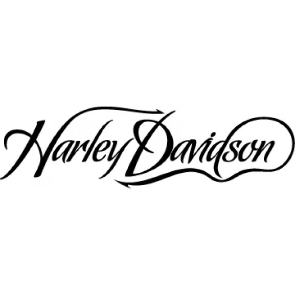 Harley logo vector.