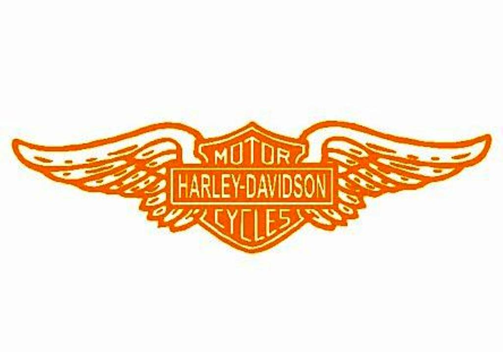 Harley Davidson Wings Logo.