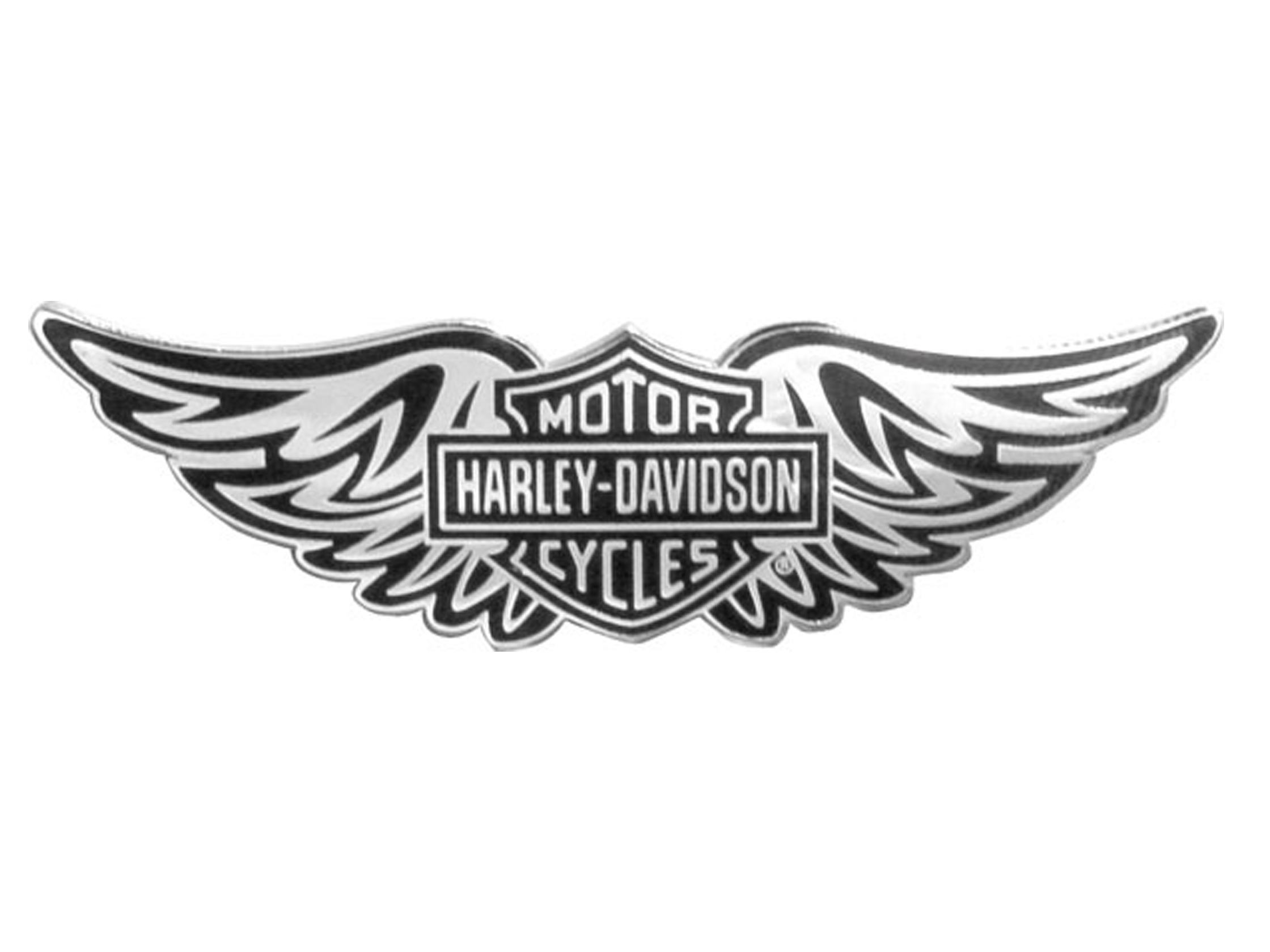 Harley Davidson Wings Clipart.