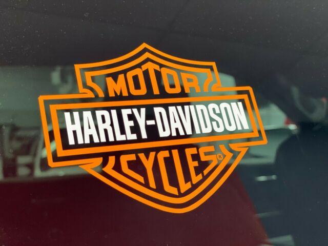 Harley Davidson Logo Cutz Rear Window Decal Motorcycle Truck Car Sticker 2 5.