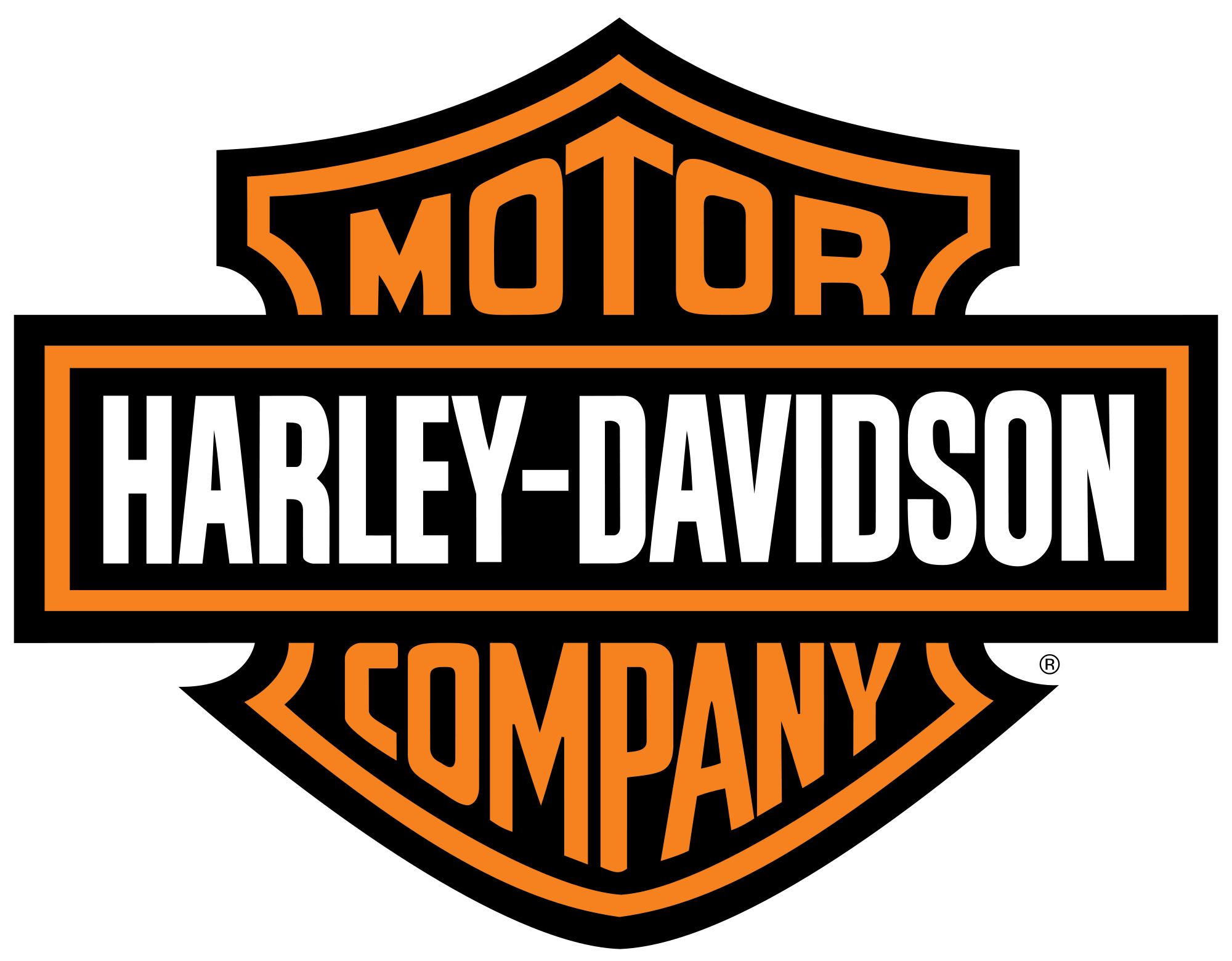 Harley Davidson Logo PNG Image.