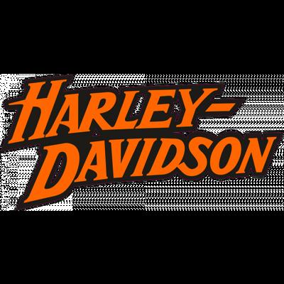 Harley Davidson Logo Letters transparent PNG.