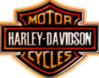 Download Harley Davidson Logo 3D PNG.
