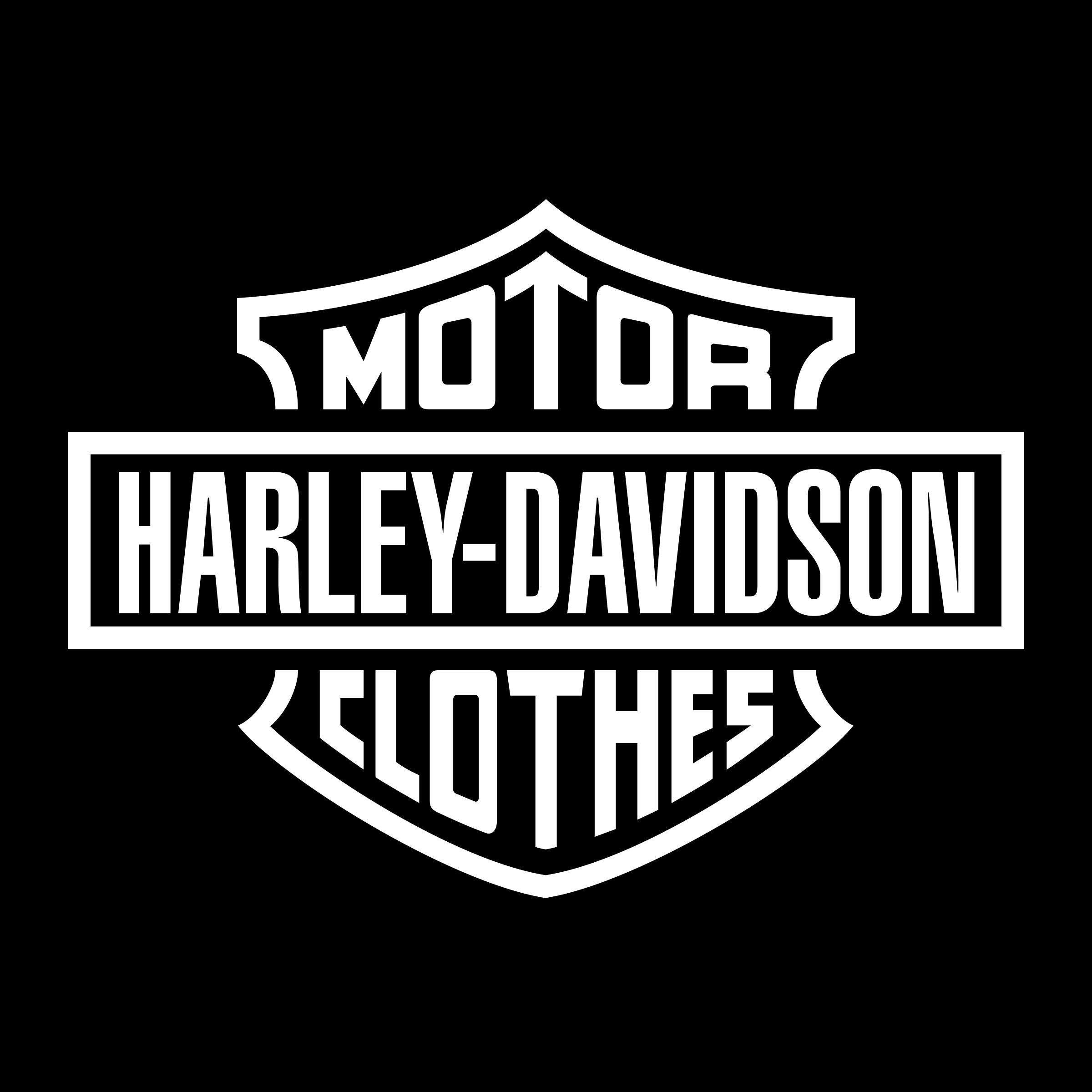 Harley Davidson Logo PNG Transparent & SVG Vector.