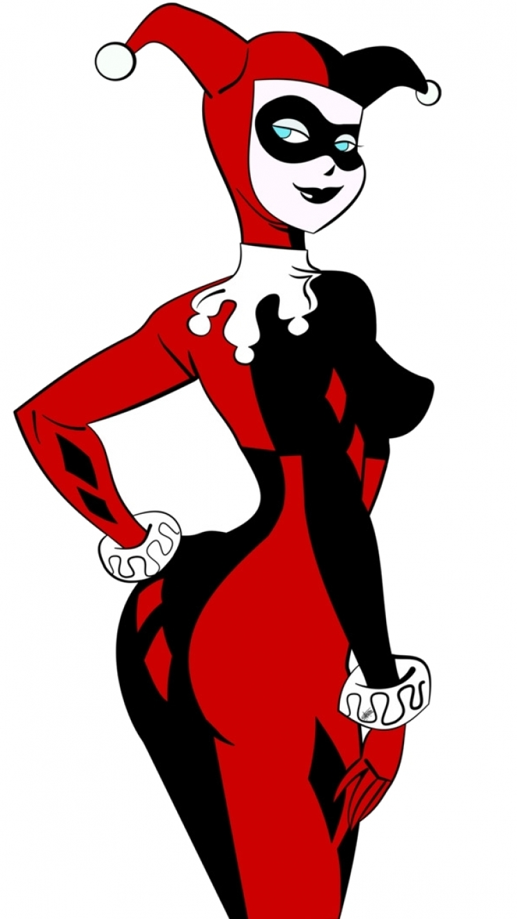 harley quinn iphone clipart - Clipground