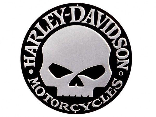 Harley Davidson Skull Logo History & Bonus Wallpaper.