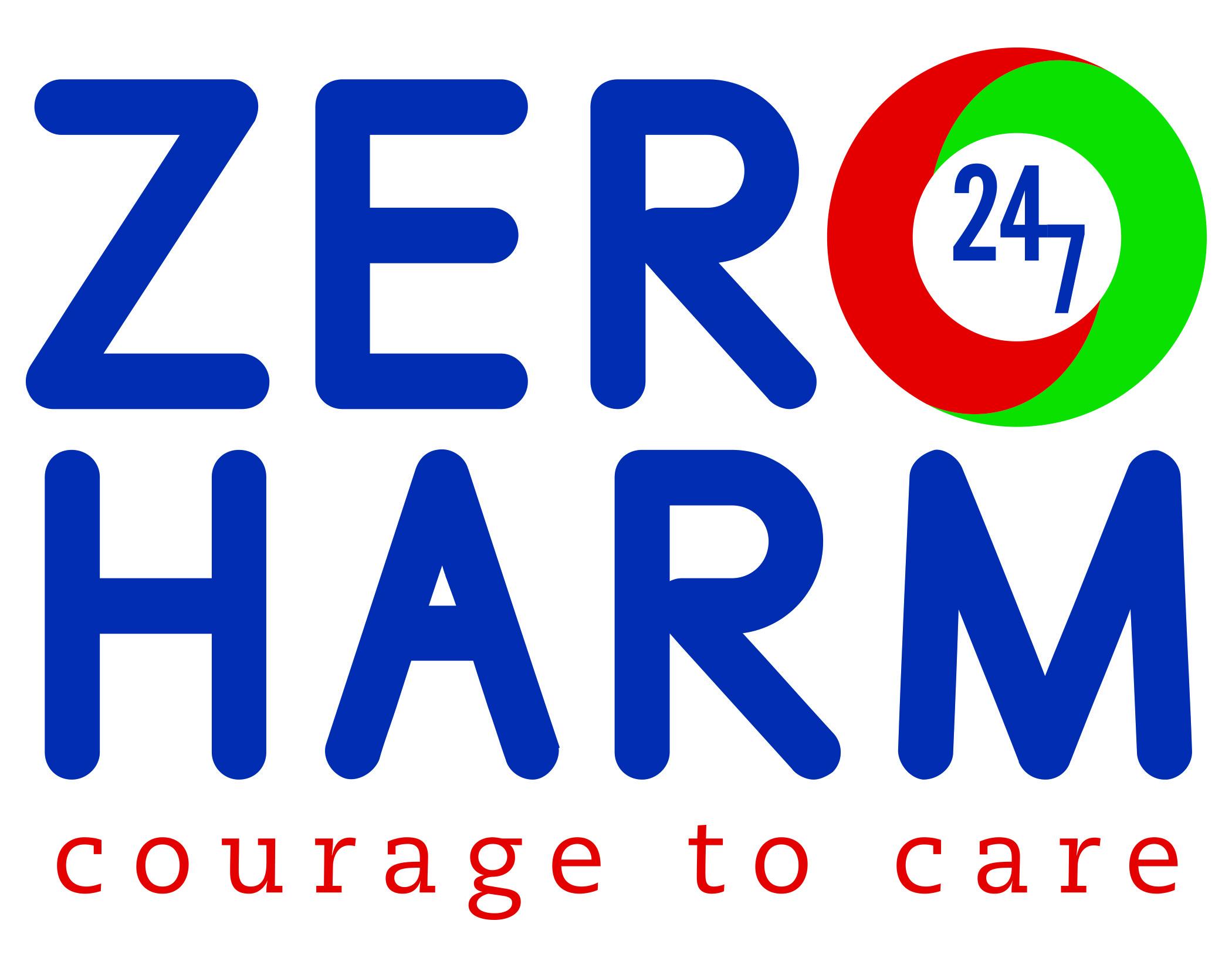 Zero harm clipart.