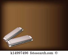Harmonica Clip Art EPS Images. 584 harmonica clipart vector.