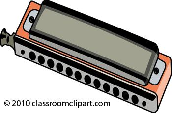 Musical Instruments : harmonica.