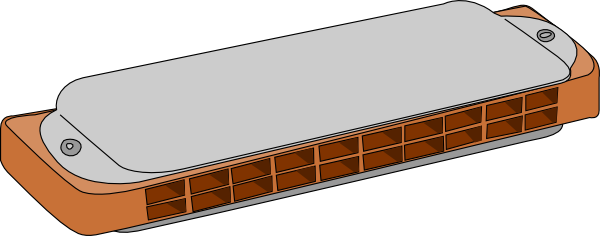 Harmonica Clipart.