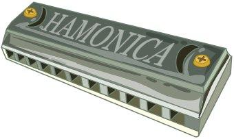 Harmonica clip art.