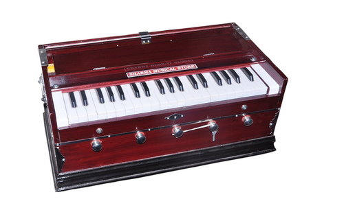 39 Keys Female Reed Linden Wood Harmonium.