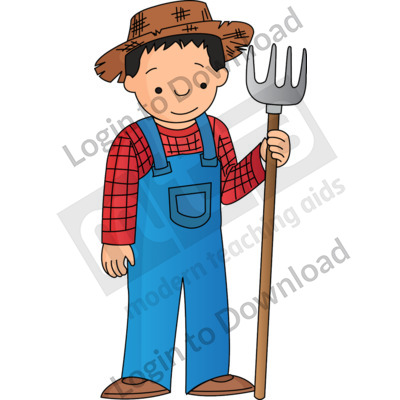 Young farmer.