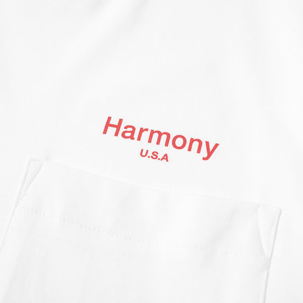 Harmony Teddy Logo Pocket Tee.