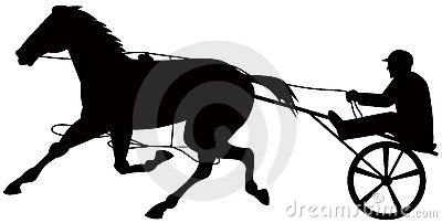 Clipart harness racing.