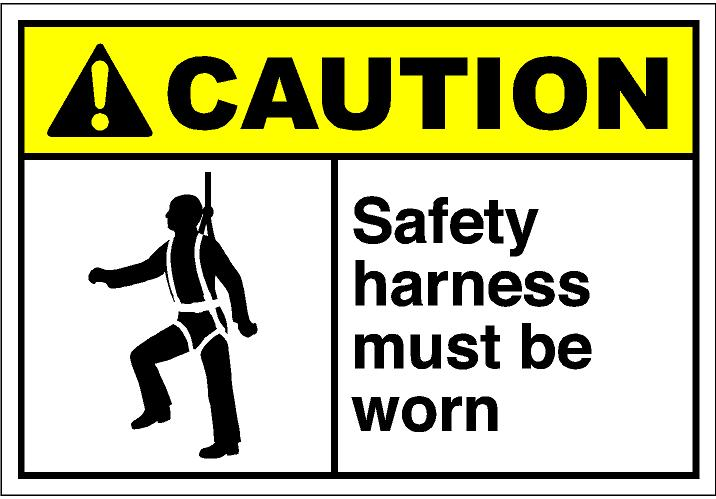 Safety Harness Clipart.