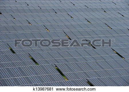 Stock Photography of close up solar cell battery harness energy of.