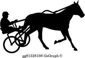 Harness Racing Clip Art.