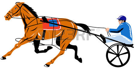 141 Harness Racing Stock Vector Illustration And Royalty Free.