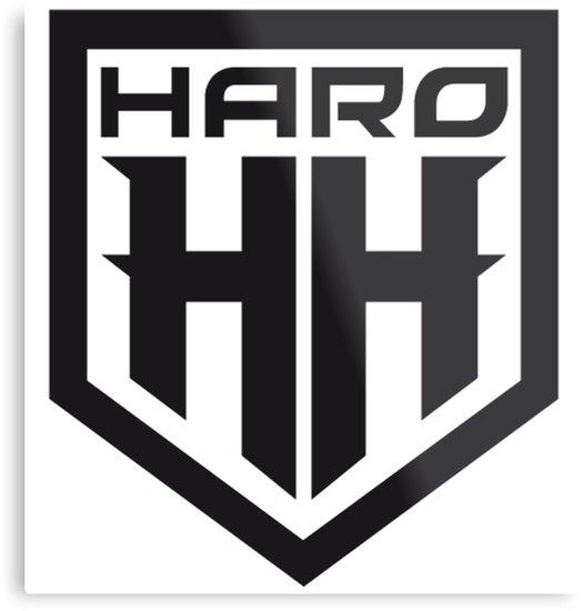 \'Haro HH BMX\' Metal Print by tttrickyyy.