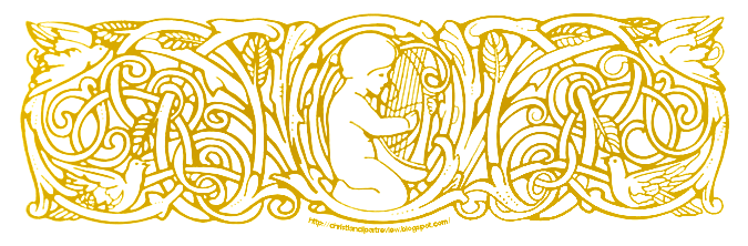 The Harp Player Banner.