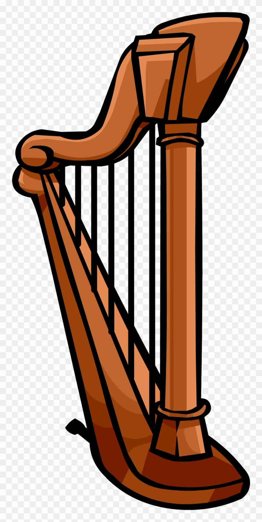 Harp Transparent Background.