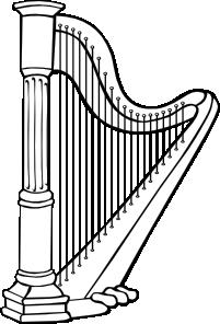 Harp clip art Free Vector / 4Vector.