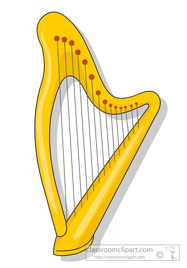 Harp clip art download.