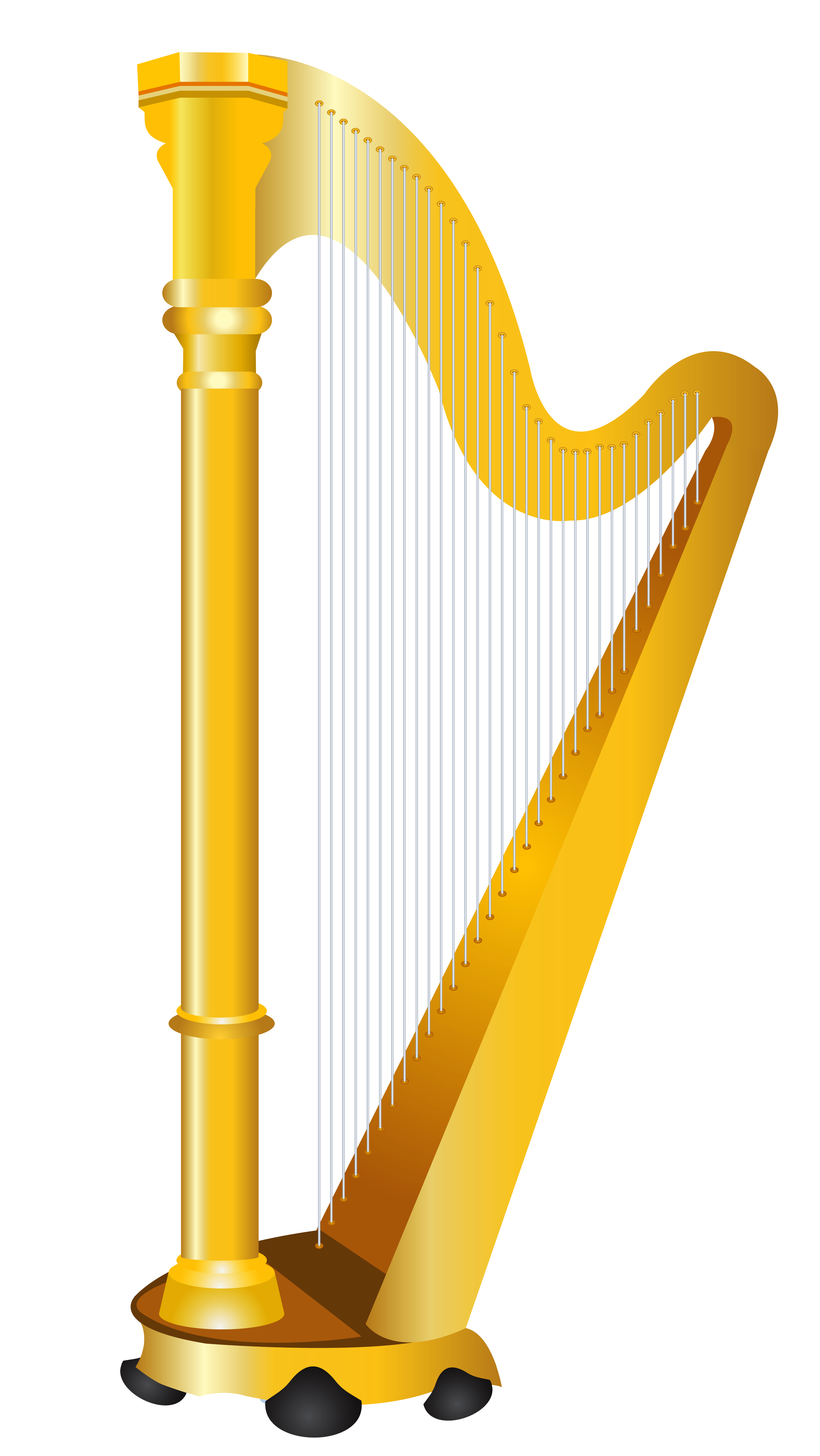 Free clipart harp.