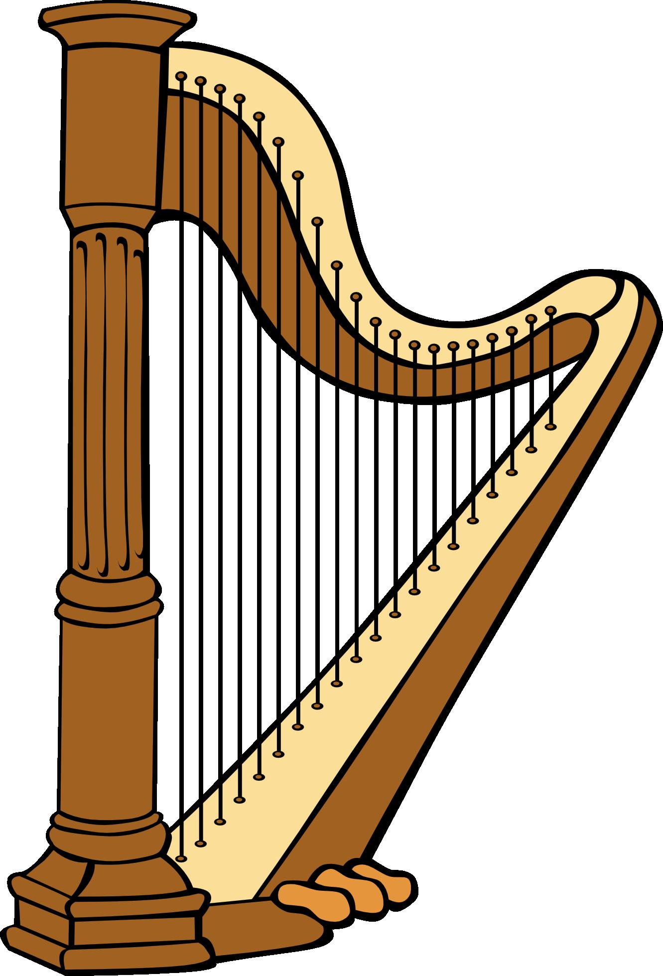 Harp Clipart & Harp Clip Art Images.