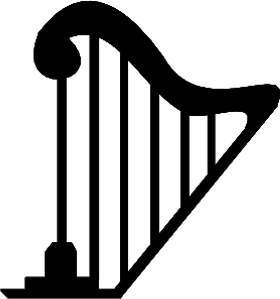 Clipart Harp.