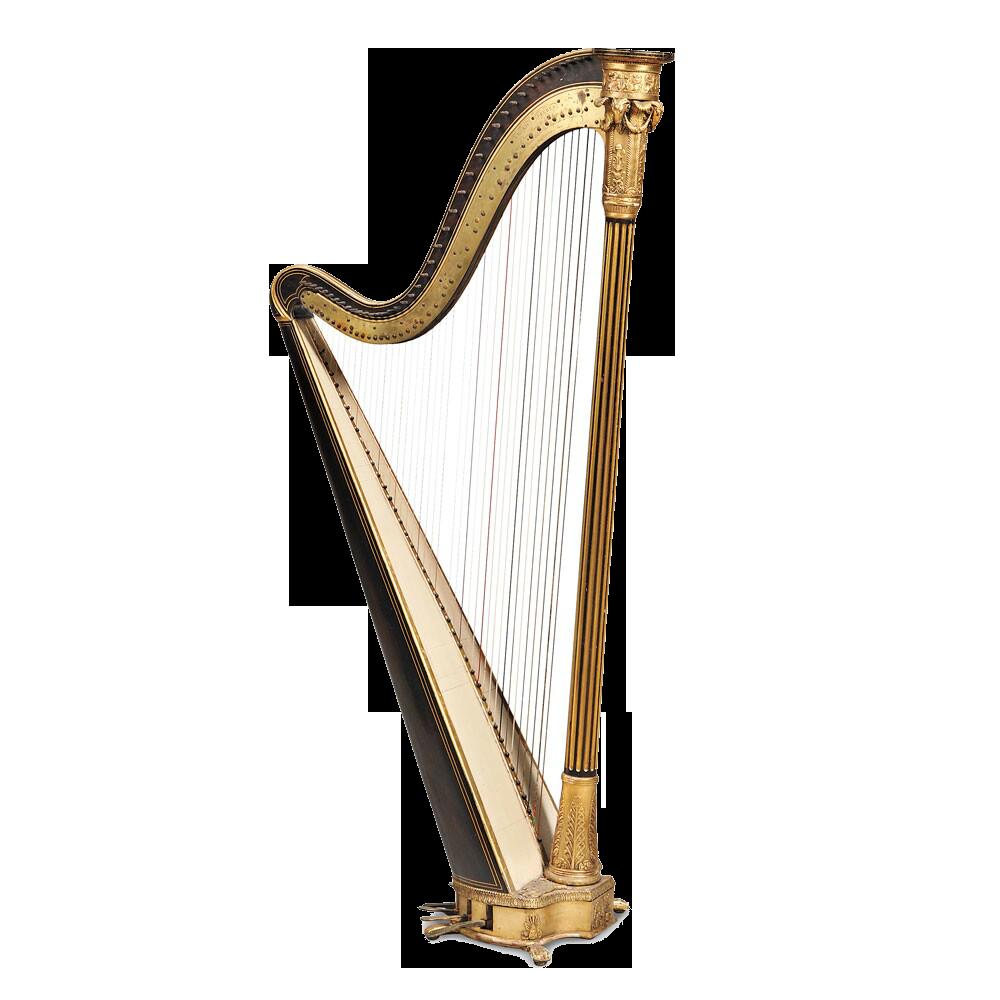 Harp PNG Image.