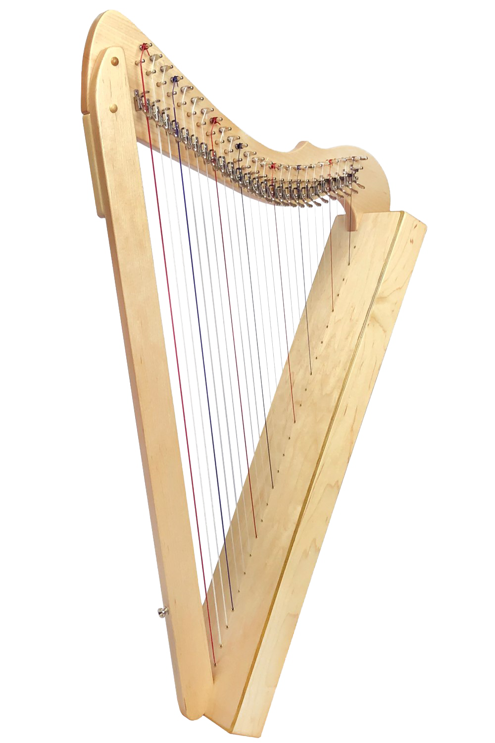 Harp PNG Picture.