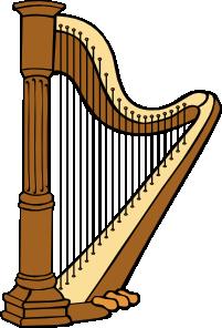 Harp Clip Art at Clker.com.